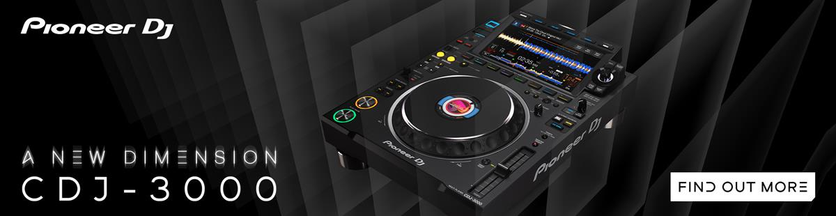 Pioneer CDJ-3000 - A New Dimension