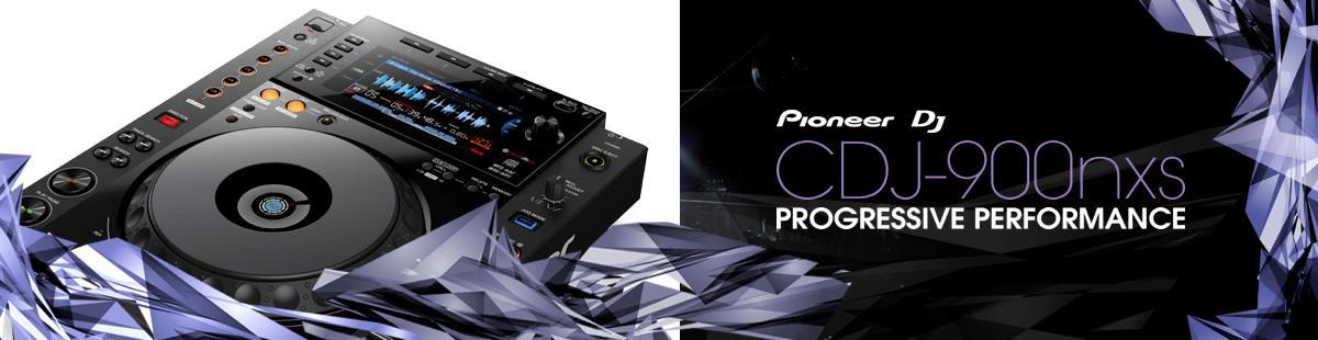 Pioneer CDJ-900NXS Progressive Performance