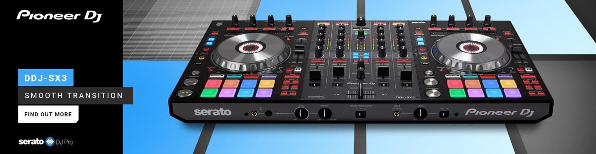 Pioneer DDJ-SX3 Serato DJ Pro controller