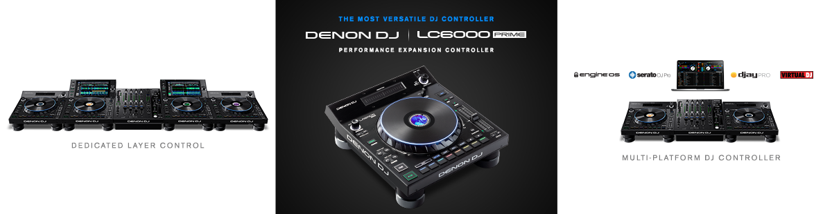 Denon DJ LC6000 PRIME Performance Expansion Controller
