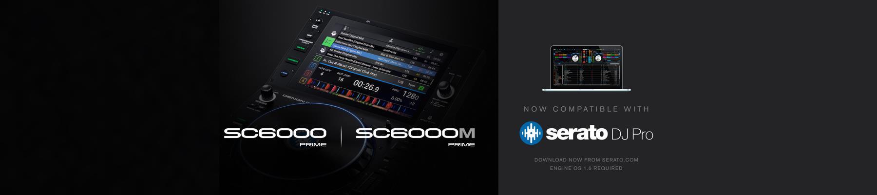 Serato DJ Pro Integration for SC6000 and SC6000M