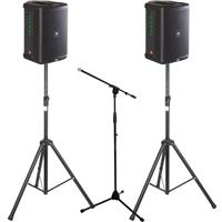 Image of JBL EON ONE Compact Pair & Stands Package