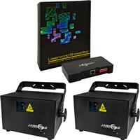 Image of Laserworld 2 x PRO 1600RGB & Showeditor