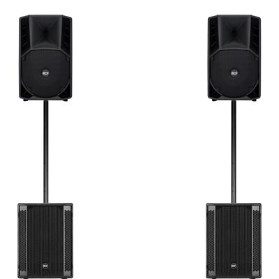 Image of RCF ART710A mk4 & 2 x SUB 702AS II Package