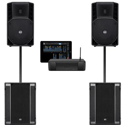 Image of RCF ART732A mk4 & SUB 905AS II & M18 System