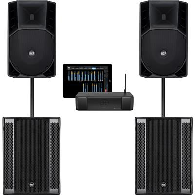 Image of RCF ART715A mk4 & SUB 708AS II & M18 System
