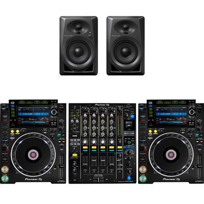 Image of Pioneer CDJ2000 NXS2 & DJM900 NXS2 & DM40 Package