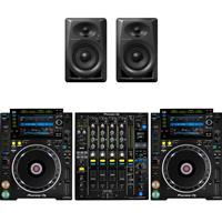 Image of Pioneer CDJ2000 NXS2 & DJM900 NXS2 & DM40 Package