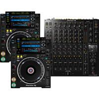 Image of Pioneer DJ CDJ2000 NXS2 & DJMV10 Package
