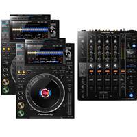 Image of Pioneer DJ CDJ3000 & DJM750 mk2 Package