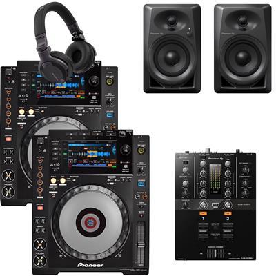 Image of Pioneer DJ CDJ900 Nexus & DJM250 Mk2 Bundle