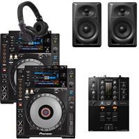 Thumbnail image of Pioneer DJ CDJ900 Nexus & DJM250 Mk2 Bundle