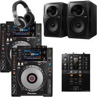 Image of Pioneer DJ CDJ900 Nexus & DJM250 Mk2 Pro Bundle