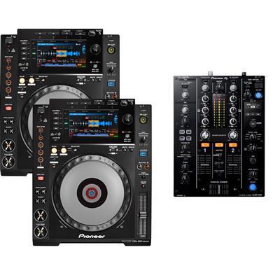 Image of Pioneer CDJ900 Nexus & DJM450 Pack