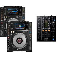 Image of Pioneer DJ CDJ900 Nexus & DJM450 Pack
