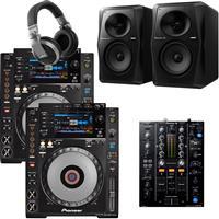 Image of Pioneer DJ CDJ900 Nexus & DJM450 Pro Bundle