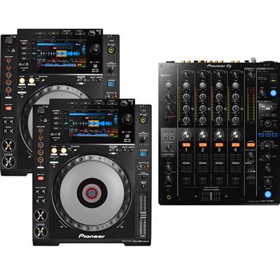 Image of Pioneer DJ CDJ900 Nexus & DJM750 Mk2 Pack