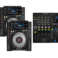 Image of Pioneer CDJ900 Nexus & DJM900 NXS2 Pack