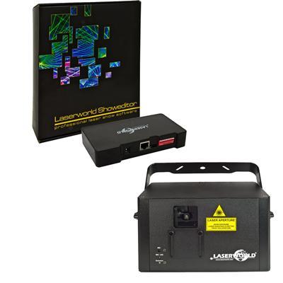 Image of Laserworld CS 1000RGB MKII & Showeditor