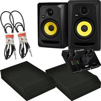 Image of KRK Classic 5 & AIR 192|4 Package