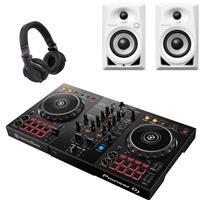 Image of Pioneer DJ DDJ400 CUE1 White Bundle