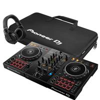 Image of Pioneer DJ DDJ400 & HDJX5K & Bag Package