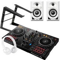 Image of Pioneer DJ DDJ400 & DM40W White Bundle