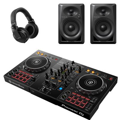 Image of Pioneer DJ DDJ400 & DM40 Intro Bundle