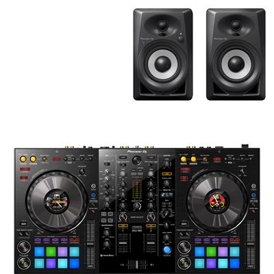 Image of Pioneer DDJ800 & DM40BT Package