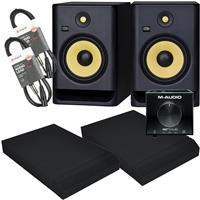 Image of KRK Rokit RP8 G4 & AIR|Hub Package