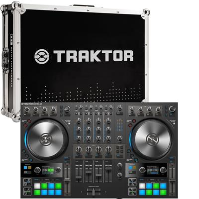 Image of Native Instruments Traktor Kontrol S4 & Flight Case