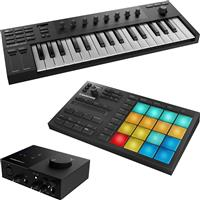 Image of Native Instruments Kontrol M32 & Maschine Mikro & Audio 1 Package