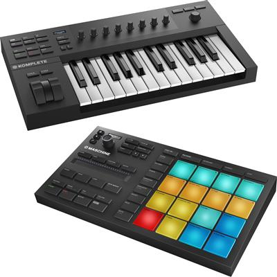 Image of Native Instruments Kontrol A25 & Maschine Mikro