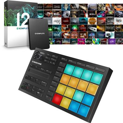 Image of Native Instruments Maschine Mikro & Komplete 12 Package