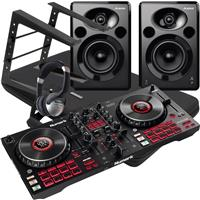 Image of Numark Mixtrack Platinum FX & Elevate 5 MKII Complete Bundle