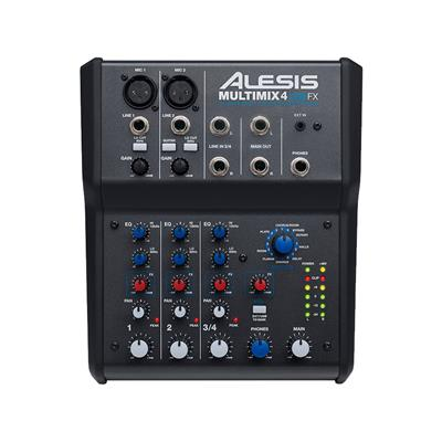 Image of Alesis MultiMix 4 USB FX