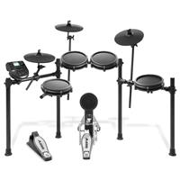 Image of Alesis Nitro Mesh Kit Eight-Piece Electronic Drum Kit with Mesh Heads