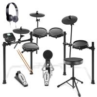 Image of Alesis Nitro Mesh Kit + Stool & Headphones