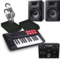 Image of M Audio Oxygen 25 & BX5 D3 Studio Recording Bundle