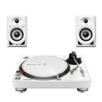Image of Pioneer DJ PLX500W & DM40BTW Bluetooth Package