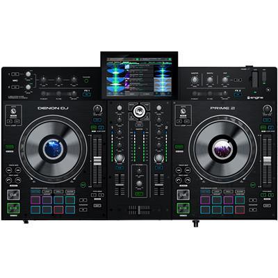 Image of Denon DJ Prime 2 Smart DJ Console with 7-inch Touchscreen