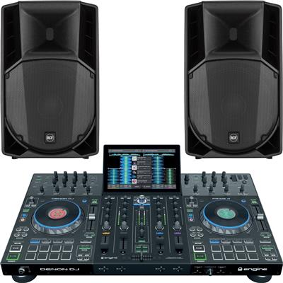 Image of Denon Prime 4 & ART715A mk4 Bundle