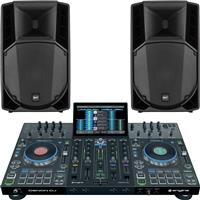 Image of Denon DJ Prime 4 & ART715A mk4 Bundle
