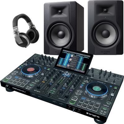 Image of Denon DJ Prime 4 & BX8 D3 Bundle