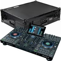 Image of Denon DJ Prime 4 & Black Flight Case