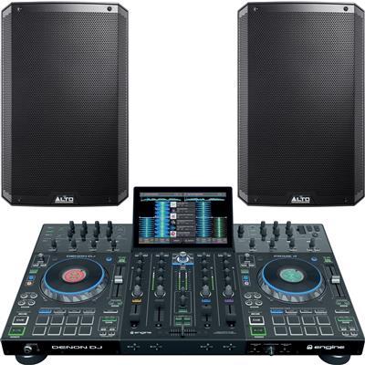 Image of Denon DJ Prime 4 & TS315 Bundle