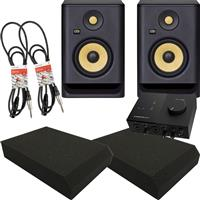 Image of KRK Rokit RP5 G4 & Audio 2 Package