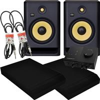 Thumbnail image of KRK Rokit RP8 G4 & Audio 2 Package