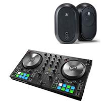 Image of Native Instruments Traktor Kontrol S2 & JBL 104 Package
