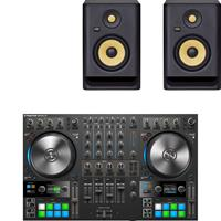 Image of Native Instruments Traktor Kontrol S4 & Rokit RP5 G4 Package